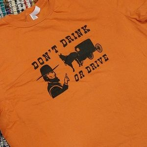 🌠5 for $25🌠Amish Don't Drink Or Drive Tshirt